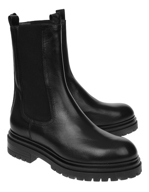 BUKELA Boot Leather Black
