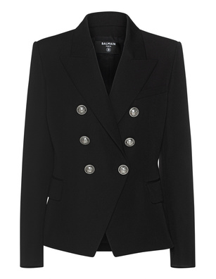 BALMAIN Chic Button Black