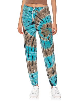 CRUSH. Knit Batik Camelblue