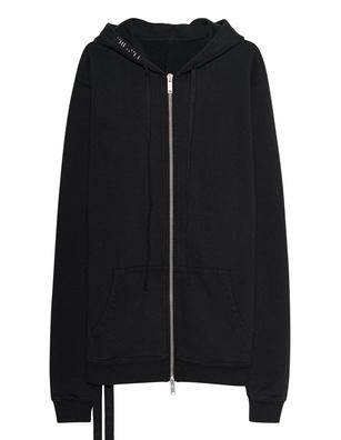 UNRAVEL Hoody Zip Black