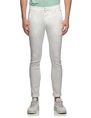 Dondup Gaubert Linen Off-White