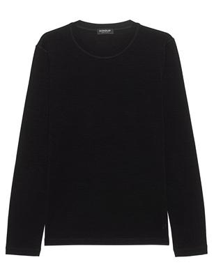 Dondup Lunga Wool Silk Black