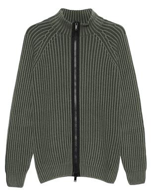 Dondup Chunky Zipper Green