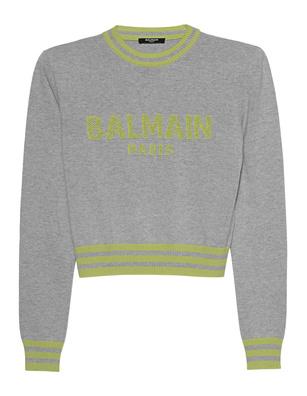 BALMAIN Mesh Logo Grey
