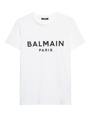 BALMAIN Logo Wording White
