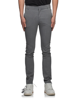 BALMAIN Collection Fit Wool Grey