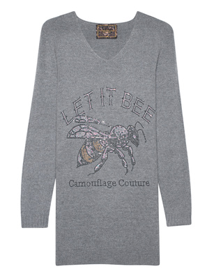 CAMOUFLAGE COUTURE STORK Let it Bee Grey
