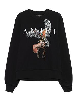 Amiri Falcon Crew Black