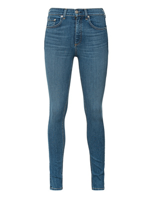 RAG&BONE EL HIGH RISE SKINNY BLUE