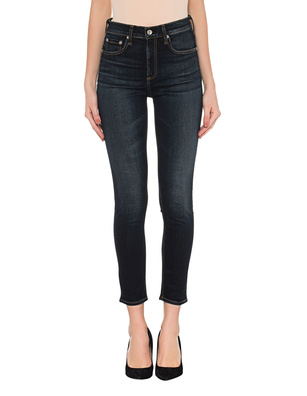 RAG&BONE Highrise Ankle Skinny Dark Blue