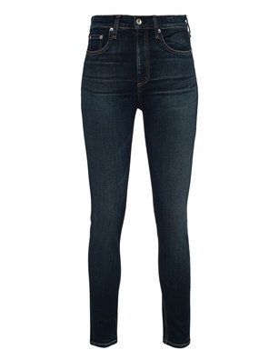 RAG&BONE High Rise Ankle Skinny Dark Blue