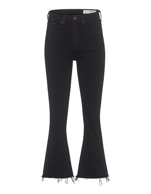 RAG&BONE Crop Flare Black Coal