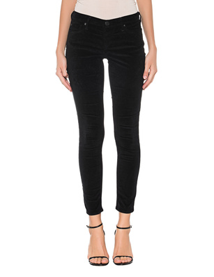 TRUE RELIGION Halle Velvet Black