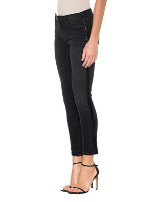 TRUE RELIGION  New Halle Superstretch Black