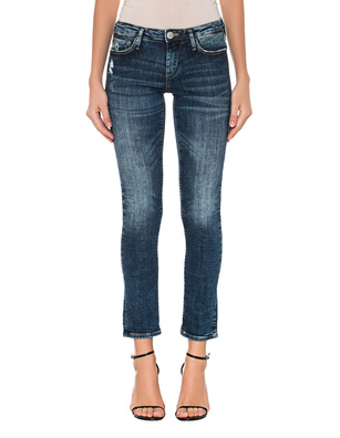 TRUE RELIGION New Halle Carbon Wash Blue