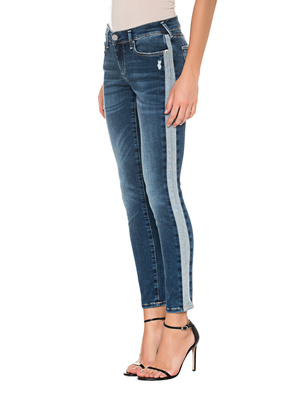 TRUE RELIGION Halle Superstretch Reverse Blue