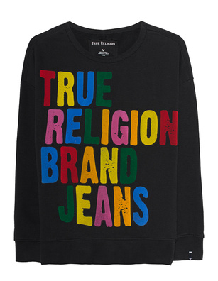 TRUE RELIGION Sweat Rainbow Black