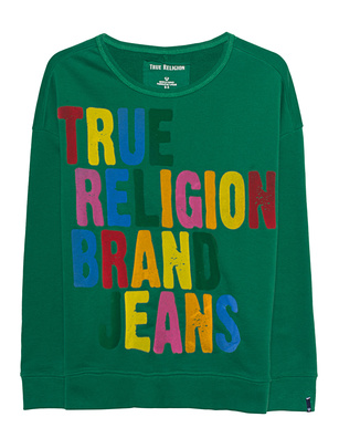 TRUE RELIGION Sweat Kelly Green