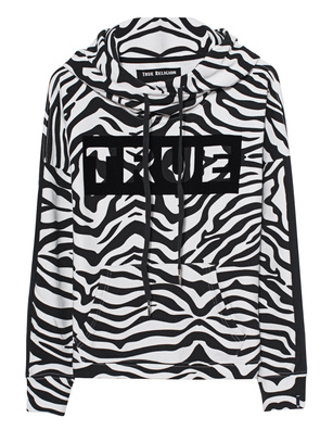 TRUE RELIGION Zebra Black