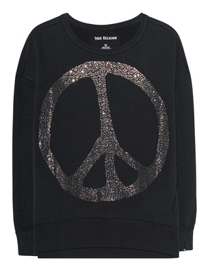 TRUE RELIGION Peace Sparkle Black