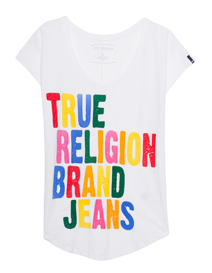 TRUE RELIGION Relax Statement White
