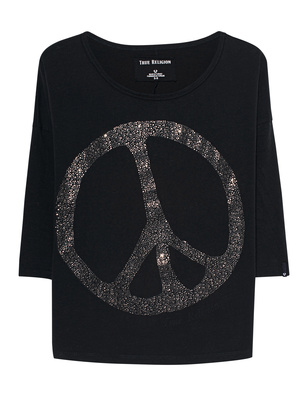 TRUE RELIGION Peace Black