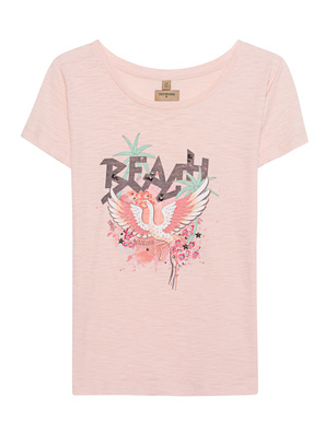 TRUE RELIGION Round Neck Beach Apricot