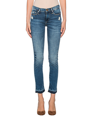 TRUE RELIGION Halle Modfit Long Blue Denim