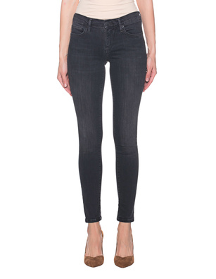 TRUE RELIGION Halle Denim Superstretch Black