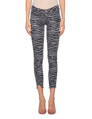TRUE RELIGION Halle Zebra Grey