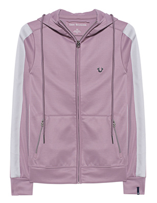 TRUE RELIGION Hodded Athleisure Rose