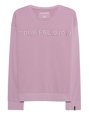 TRUE RELIGION Sweater Crew Rose