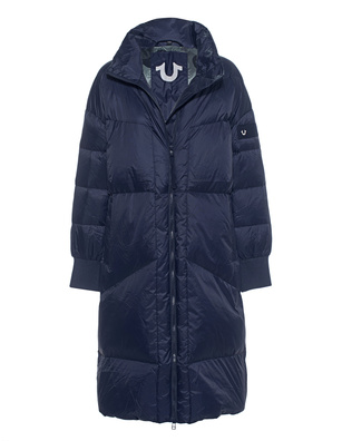 TRUE RELIGION Down Coat Navy
