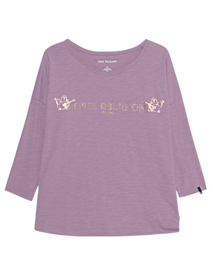 TRUE RELIGION Longsleeve Cloudburst Rose