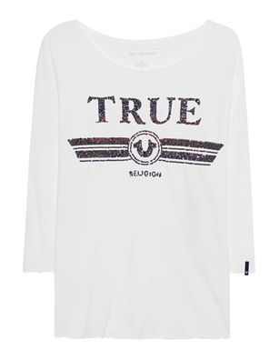 TRUE RELIGION Trucci Longsleeve White
