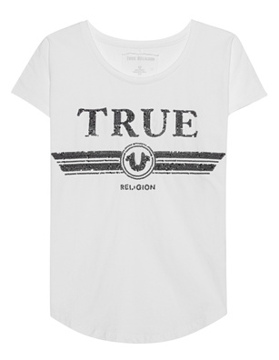 TRUE RELIGION Sequins White