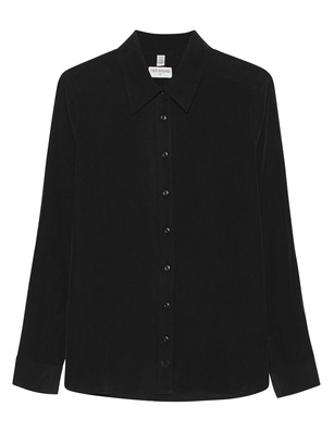 TRUE RELIGION Basic Blouse Black