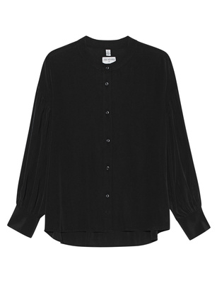 TRUE RELIGION Boyfriend Blouse Black