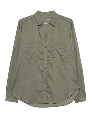 TRUE RELIGION Military Blouse Olive