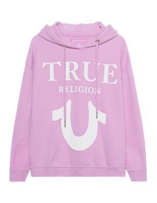 TRUE RELIGION Oversize Logo Puffy Gelato Lilac