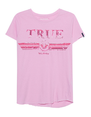 TRUE RELIGION Round Sequins Pink