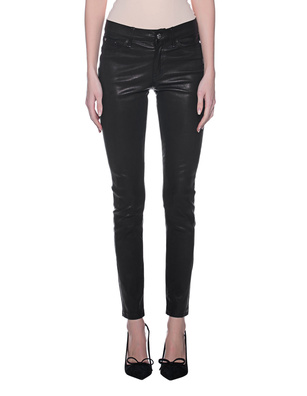 TRUE RELIGION Leather Pant Black