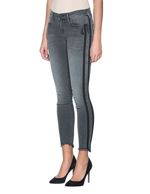 TRUE RELIGION Halle Stripe Grey