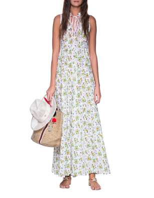 TRUE RELIGION Flower Garden Dress Multicolor