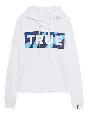 TRUE RELIGION Block Camouflage Logo White