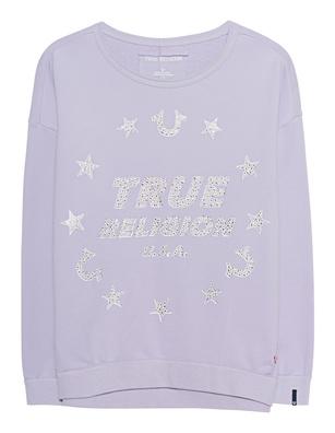 TRUE RELIGION Sweater Stars Lilac