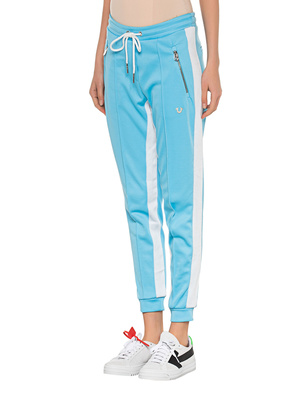 TRUE RELIGION Sweatpant Stripe Lightblue