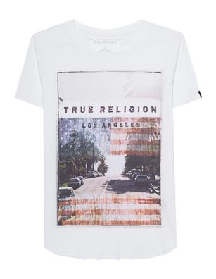 TRUE RELIGION LA Glamorous White