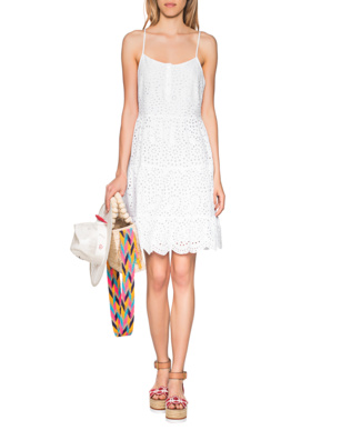 TRUE RELIGION Cotton Dress White
