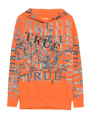 TRUE RELIGION Boyfriend Logo Orange